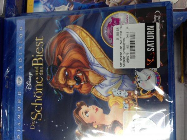 [LOKAL Hannover Saturn] Die Schöne und das Biest - Diamond Edition (Blu-ray) 9,99€