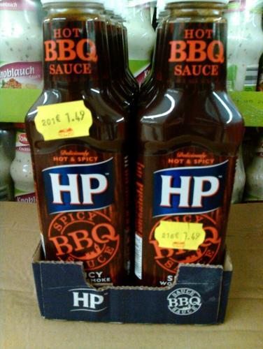 HP BBQ Sauce @ Jawoll für 1,49 € [Lokal?]