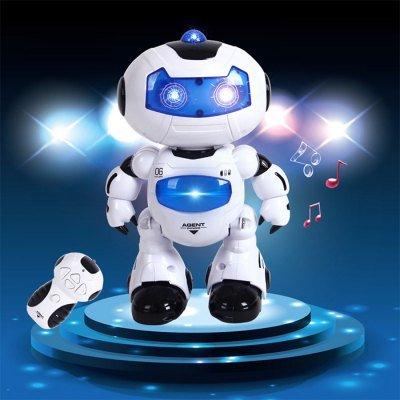 Tanzender Roboter mit Musik - Kinderspielzeug (aus China)