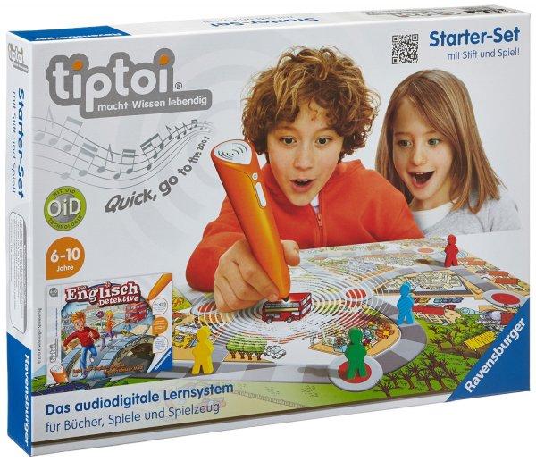 Ravensburger 00501 - tiptoi®: Starter-Set mit Stift & Spiel für 27,99 €