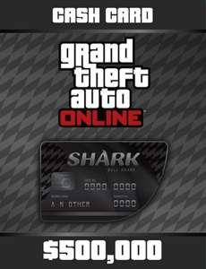 Grand Theft Auto Online: Cash Card - 500.000$ PC nur 2€@Kinguin.net