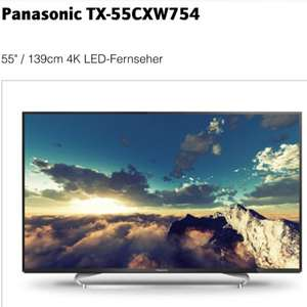 Panasonic TX-55CXW754 für 1525€