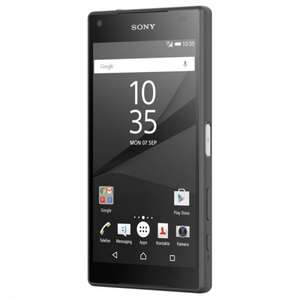 Sony Xperia Z5 Compact Graphitschwarz 32GB LTE 439€ und 21,90€ in Payback