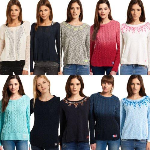Superdry Damen Pullover 27 verschiedene Modelle hammerpreis (ebay)