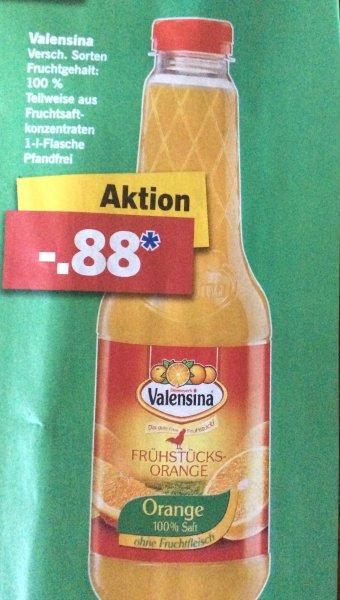 (Lidl) Valensina Saft ver.Sorten für 0,88€