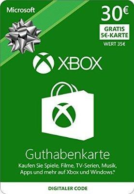 XBOX Live 35€ Guthaben für 30€
