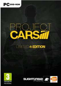 Project Cars Limited Edition PC - Key für Steam