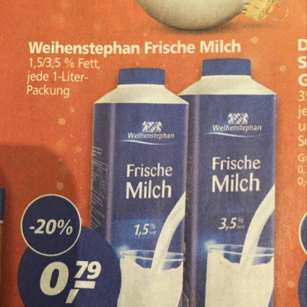 MILCHFANS! Weihenstephan Frische Milch REAL