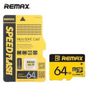Remax Original 64GB TF Micro SD Class10 High-speed