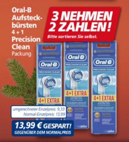 [real] 3 Packungen Oral-B Precision Clean für 27,98 € (1,87 € / Bürste)