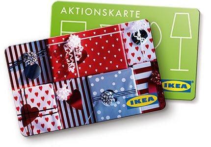 [IKEA-offline] Geschenkkarte kaufen + 10% auf Aktionskarte geschenkt - 14. - 24.12.15