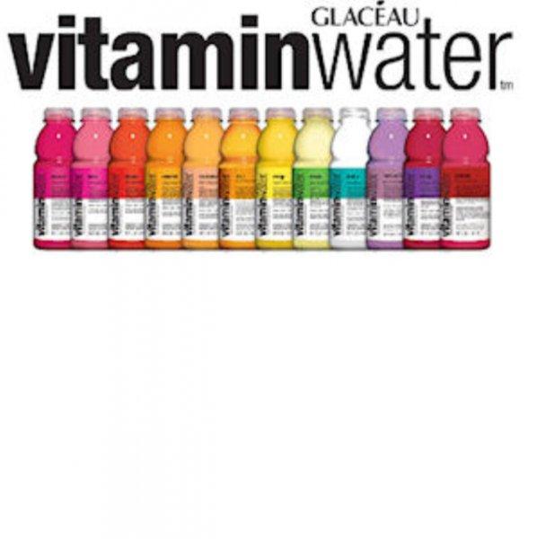 3 x Glaceau Vitamin Wasser GRATIS Testen