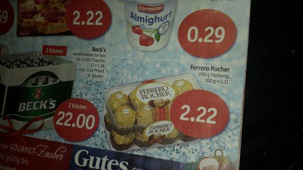 Ferrero Rocher, Sky bundesweit