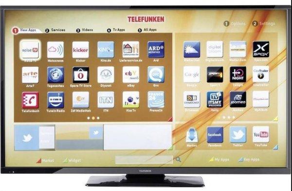 (MediaMarkt) Telefunken 49 Zoll LED TV D49F283N3C, Full-HD, Triple Tuner