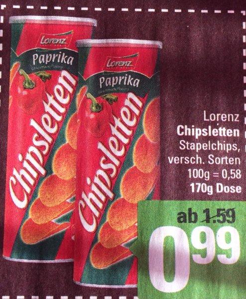 (Marktkauf Minden - Hannover)Lorenz Chipsletten für 0,99€ anstatt 1,59€