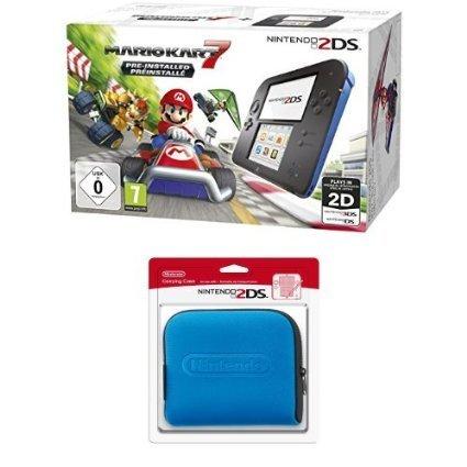 Nintendo 2DS Mario Kart 7 Bundle mit extra Tasche (Amazon.fr) €93,27