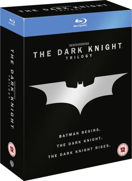 Batman - The Dark Knight Trilogy Box (Blu-ray) / deutscher UND englischer Ton / für 11,98 € [zavvi]