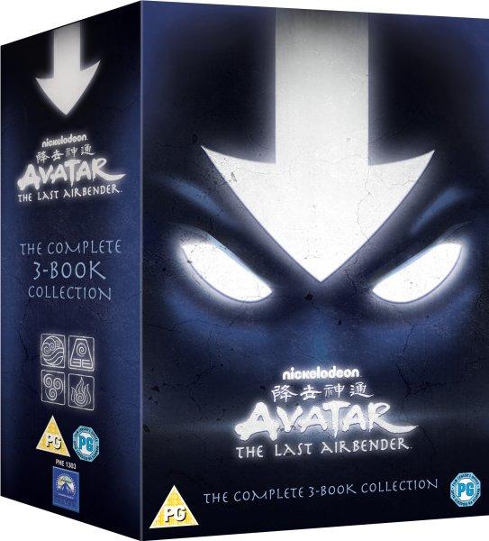 [zavvi.de] Avatar: The 3-Book Complete Collection DVD für 21,55€