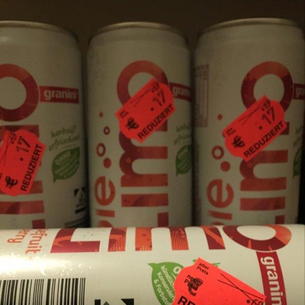 [Lokal]Granini Die Limo Grapefruit Dose(0,42€ inkl Pfand!) Kaufland Vogelsdorf