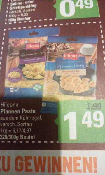 Marktkauf (Minden/Hannover) Hilcona Pfannen Pasta versch. Sorten für 49 Cent (Angebot+Cashback)