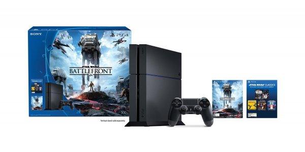 Amazon.com PS4 500GB + Star wars Battlefront oder Uncharted für 299€