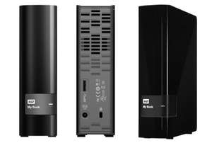 Western Digital My Book (Recertified) 2TB (58,49€), 3TB (74,99€), 4TB (104,99€)