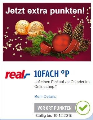 Payback - real ( offline ) 10-fach Punkte ( + 10% auf Spielwaren )