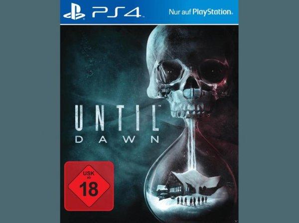 SATURN Online (Filialabholung) Until Dawn PS4 und viele andere für 19,99 Euro - 5 Euro Rabatt bei 2 Spielen durch Newslettergutschein