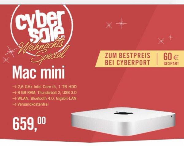 Cyberport - Apple Mac Mini für 659€