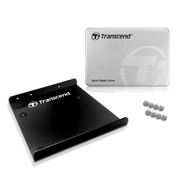 "Transcend SSD370S SSD 128GB (2,5 ""), SATA III, MLC) Aluminium-Gehäuse für 44,99€ bei Amazon.de"