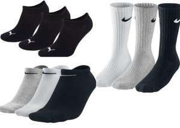 PUMA und NIKE Socken 3er Pack für 5,57 € versandkostenfrei! (Sport, Quarter, Crew, Sneaker)