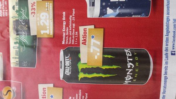 (LIDL) Monster Energy