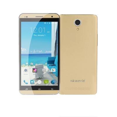 "(eFox Shop) VKWorld VK 700 PRO Gold | Dual-Sim | 5,5"" Zoll IPS HD Display | 3D Curved Corning Glass Gorilla 3 |1,3 Ghz Quad Core | 1GB Ram | 8GB int. Speicher (erweiterbar bis 64 GB MicroSD) | 3200 mAH Akku | 13 & 5 Megapixel | Android 4.4 | VK-Frei"