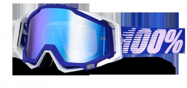 [bike-discount] verschiedene 100% Racecraft MX DH Goggles verspiegelt