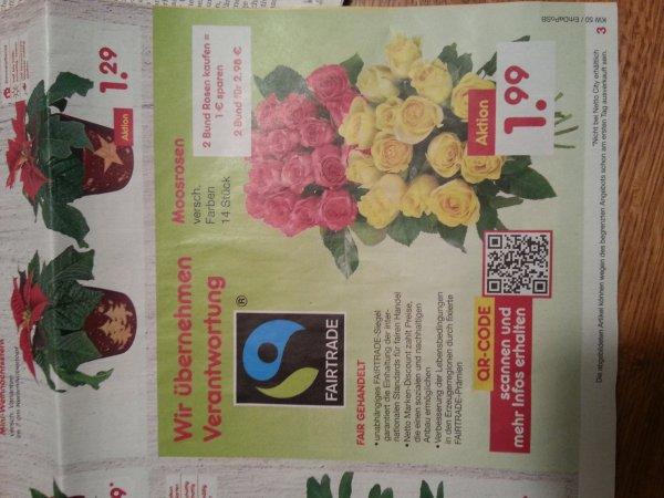 Fair Trade Rosen bei netto - z. B. für Muttern