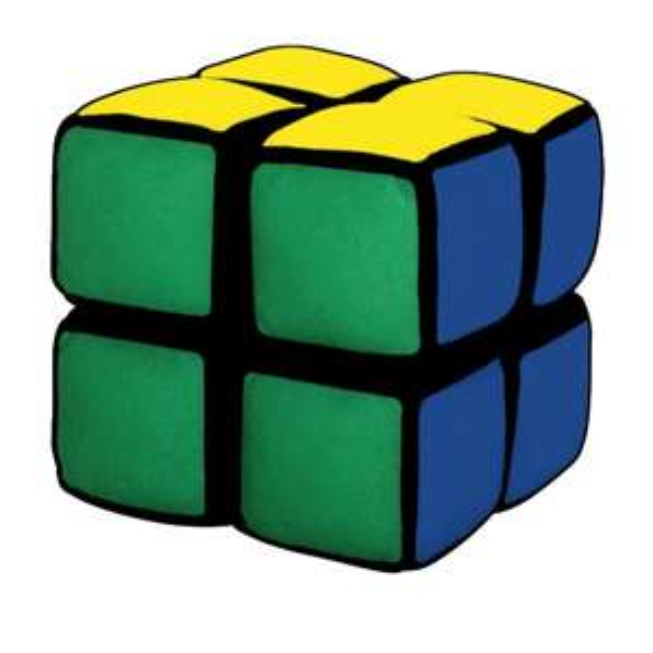 Jumbo 12157 - Rubik's Baby -My first Cube, Kleinkindspielzeug