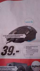 [lokal MM Ansbach] Logitech G502 Proteus Core Laser Gaming Maus (PVG: 55€/Bestpreis!)