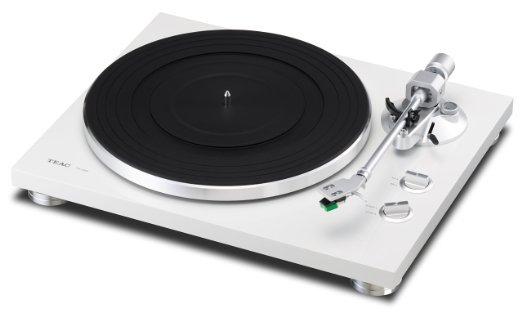 Vinyl Plattenspieler TEAC TN-300 in Weiss bei Amazon