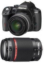 Pentax K-50 Kit 18-135 mm oder mit 18-55 mm + 55-300 mm Kit für je 485,95€ bei Amazon.fr