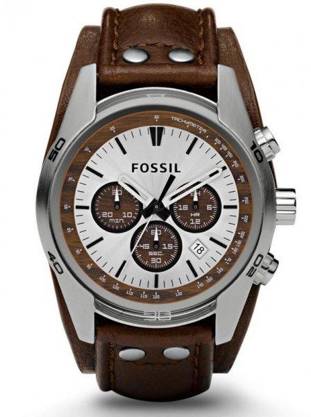 Fossil Decker (CH2565) mit Lederband in braun für 84,95€ @ Wagner