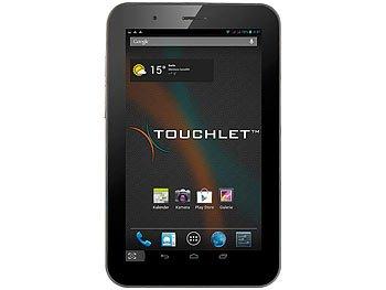 "7"" Dual SIM Tablet Touchlet (Pearl)"
