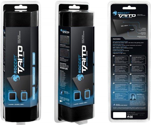 "Roccat™ - Gaming Mauspad ""Taito"" (Mid-Size,400x320x3mm,Shiny Black) [B-Ware] ab €9,11 [@Allyouneed.com]"