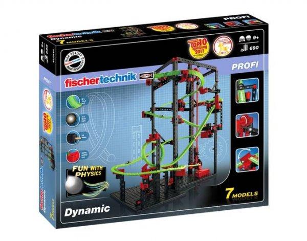 [Spielediskont] Fischertechnik 511932 - Dynamic, 7 Modelle, 690 Bauteile
