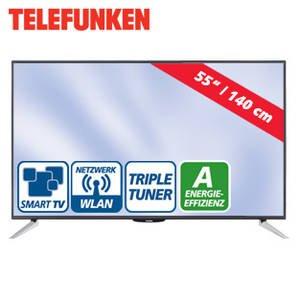 TELEFUNKEN L55F243N3C LED TV (Flat, 55 Zoll, Full-HD, SMART TV)