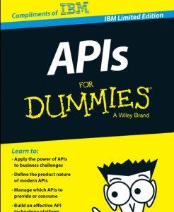"""Gratis eBook """"APIs for dummies"""""""