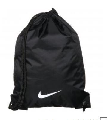[OUTFITTER] Nike Swoosh Turnbeutel Gymbag schwarz für 7,96€ inkl Versand