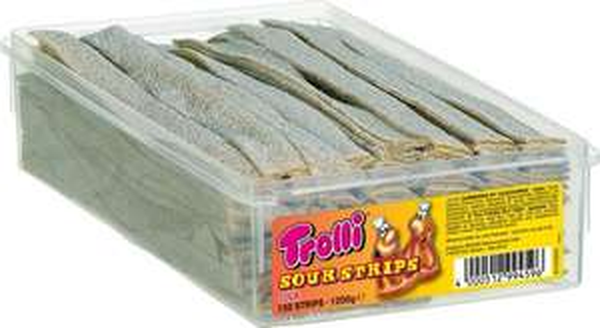[Amazon.de-Prime-Sparabo] Trolli Sour Strips Cola, 2er Pack (2 x 1.2 kg)  ab 7,64€