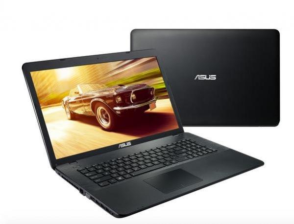 """Asus F751LAV-TY435 (17,3"""" HD+ Display, i5-5200U, 4GB Ram, 500GB HDD, DVD Brenner, HDMI, 3x USB 3.0 für 395,99€ bei Notebooksbilliger"""