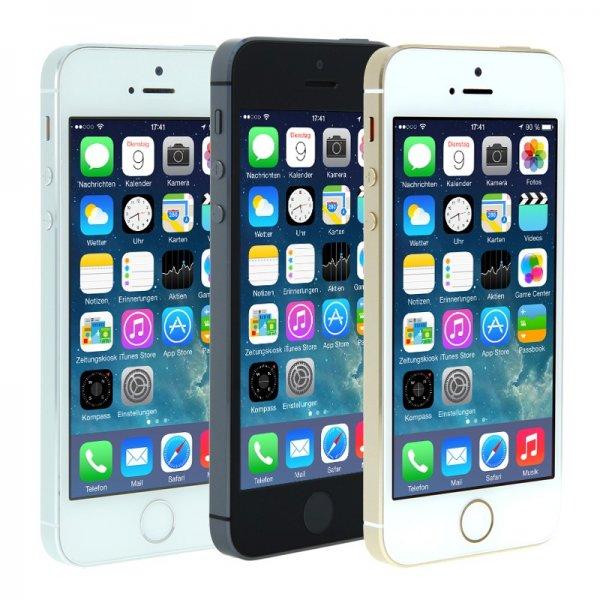 iPhone 5s spacegrau refurbished (Rakuten) plus 46,35 in Superpunkten