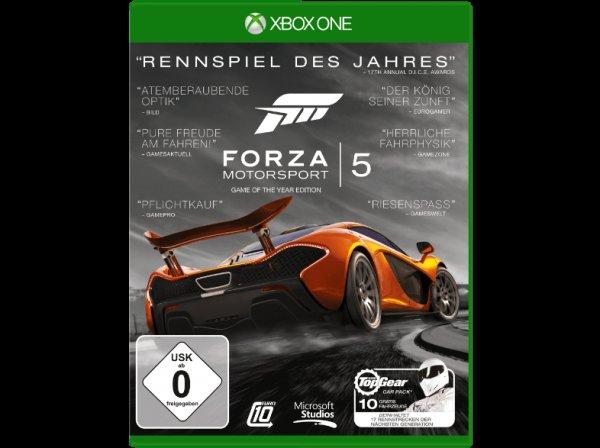 [Media Markt] Forza Motorsport 5 Game of the Year Edition Xbox One für 15€ bei Filialabholung